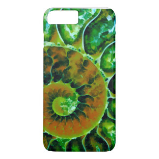 Green Nautilus iPhone 7 Plus Case