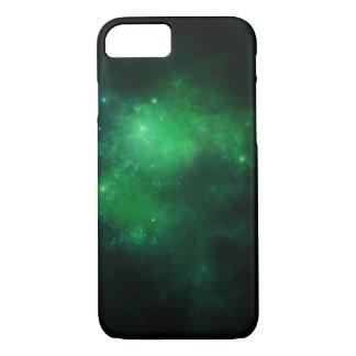 Green nebula phone case
