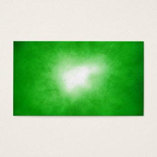 Green Nebular Business Card