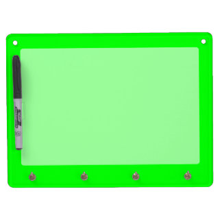 Green Neon Color Customize This Dry Erase Boards