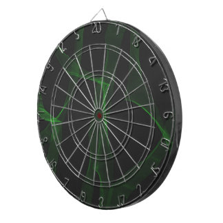Green Neon Dartboard