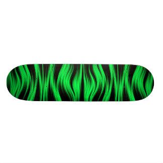 Green Neon Skateboard