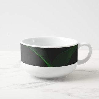 Green Neon Soup Mug