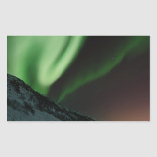 Green Northern Lights Aurora Borealis Norway Sticker