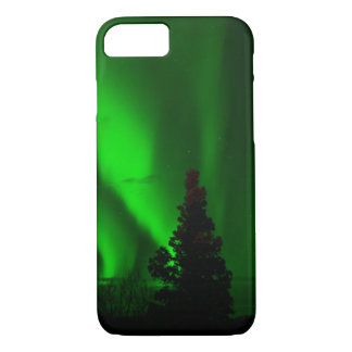 Green Northern Lights iPhone 8/7 Case