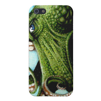 Green Octopus iPhone 5/5S Cover