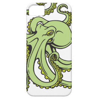 Green Octopus iPhone 5 Covers