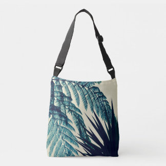 Green of the Tropics Cross Body Tote Bag