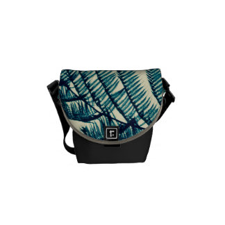 Green of the Tropics Messenger Bag