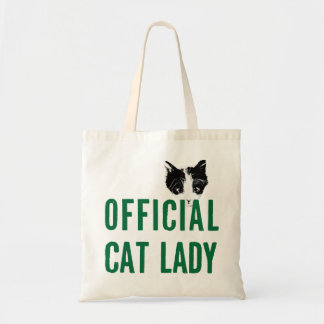 Green Official Cat Lady Bag