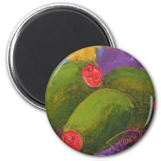 Green Olives 2 Inch Round Magnet