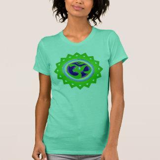 Green Om Mandala Top
