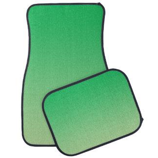 """Green Ombre"" Car Mat"