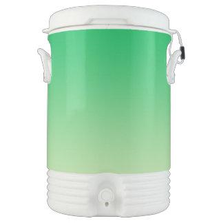 Green Ombre Drinks Cooler