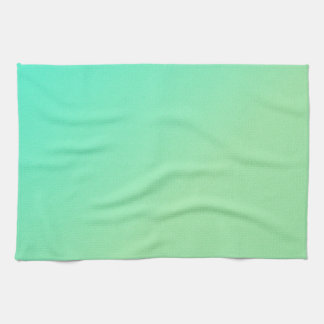 Green Ombre Kitchen Towel