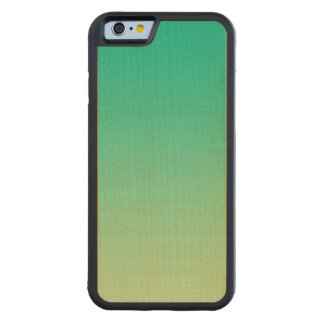 Green Ombre Maple Wood Maple iPhone 6 Bumper