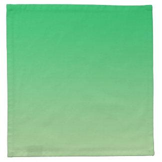 Green Ombre Napkin