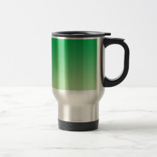 Green Ombre Travel Mug