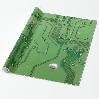 Green on Green Circuit Board