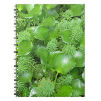 Green on Green Notebook