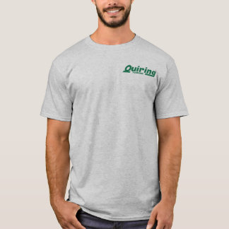 """Green On Grey"" T-Shirt"