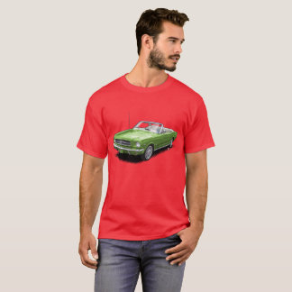Green on Red Convertible Pony Car t-Shirt