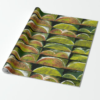 GREEN ONIONS GIFTWRAP WRAPPING PAPER