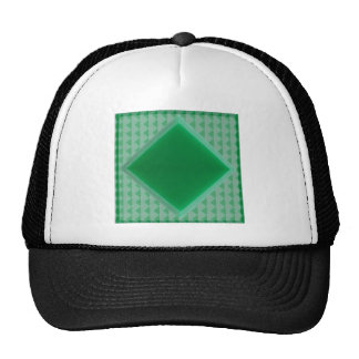 GREEN ONYX Crystal Stone Carving Pattern Shirts 99 Mesh Hat