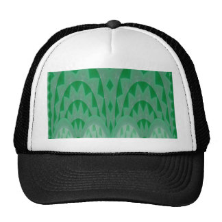 GREEN ONYX Crystal Stone Carving Pattern Shirts 99 Mesh Hats