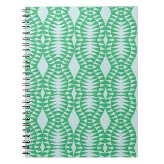 Green Optic Notebook