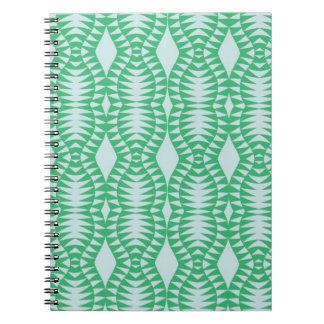 Green Optic Spiral Notebook