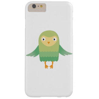 Green owl cartoon barely there iPhone 6 plus case