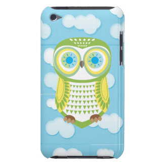 Green Owl Cloud iPod Touch Case