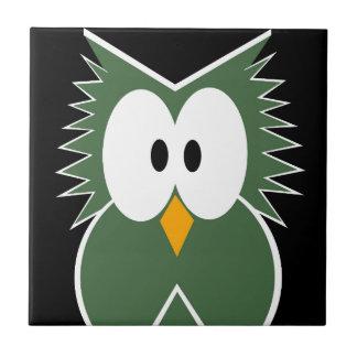 Green Owl Tiles