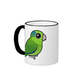 Green Pacific Parrotlet Mugs