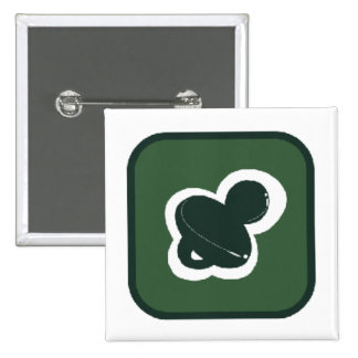 green pacifier in box square pin