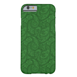 Green Paisley Barely There iPhone 6 Case