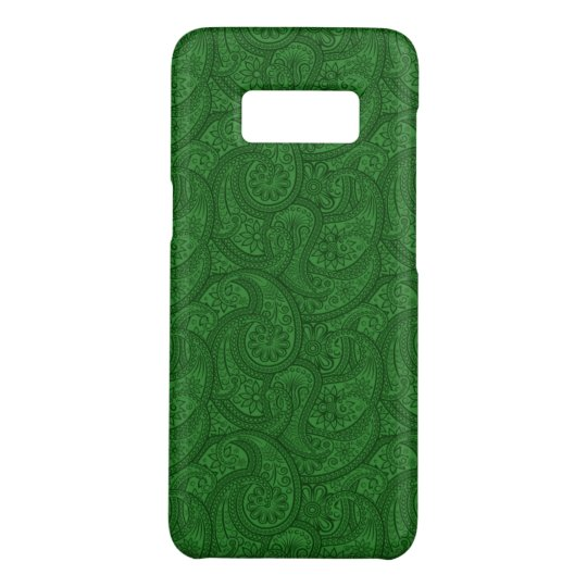 Green Paisley Case-Mate Samsung Galaxy S8 Case