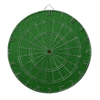 Green Paisley Dartboard