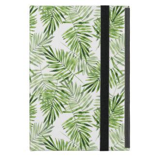 Green Palm Leaves iPad Mini Case