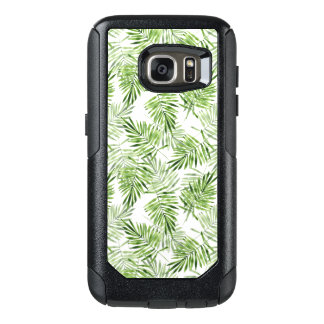Green Palm Leaves OtterBox Samsung Galaxy S7 Case