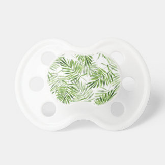Green Palm Leaves Pacifier