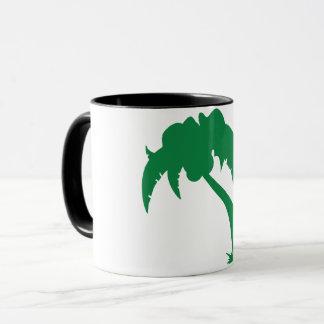 Green Palm Tree Mug