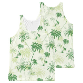 Green Palm Tree Pattern