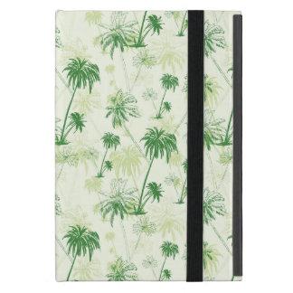 Green Palm Tree Pattern iPad Mini Cases