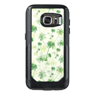 Green Palm Tree Pattern OtterBox Samsung Galaxy S7 Case