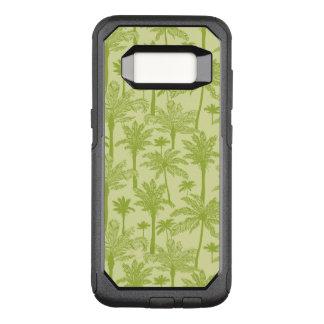 Green Palm Trees Pattern OtterBox Commuter Samsung Galaxy S8 Case