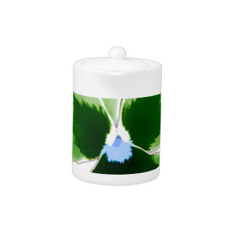 Green Pansy Flower 201711d
