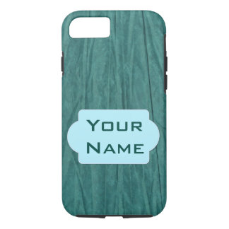 Green Paper Monogram Phone Case -- Customizable