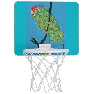 green parrot basketball hoop mini basketball hoop